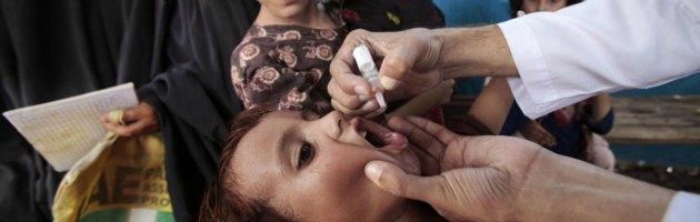 Vaccinazioni anti-polio in Pakistan