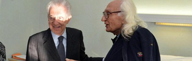 Mario Monti e Marco Pannella