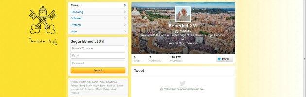 Anche il Papa sbarca su Twitter. Dal 12 dicembre sarà @pontifex