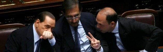 Berlusconi La Russa Alfano