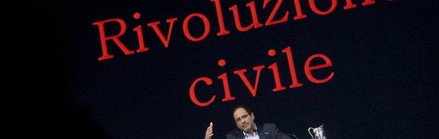 """Elezioni 2013, Ingroia: """"Mi candido come premier"""". E su Grasso: """"Errore del Pd"""""""