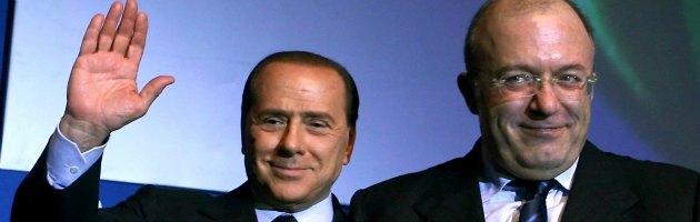 """Lazio, Berlusconi annuncia appoggio a Storace: """"Un perseguitato dalla giustizia"""""""
