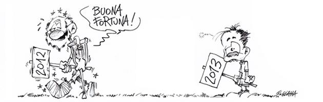 2012, un anno (poco) da ricordare. Dodici mesi con il Fatto Emilia Romagna (video)