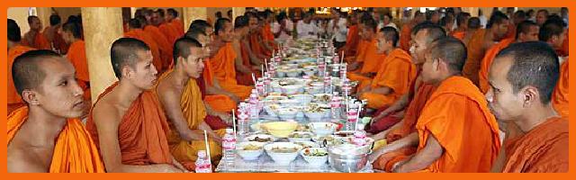 La dieta dei monaci buddisti: tutti magri in pochi giorni