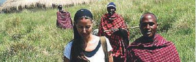 Benedetta Mazzini in Africa