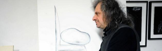 Alessandro Bergonzoni, viaggio nell'atelier dell'artista (foto e video)