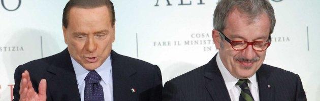 Berlusconi a Maroni