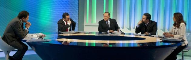 Silvio Berlusconi a Omnibus