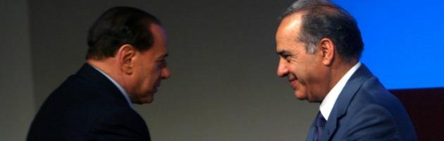 Silvio Berlusconi e Beppe Pisanu