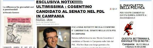 Notix.it su Cosentino