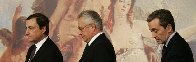Mario Draghi, Giulio Tremonti, Vittorio Grilli