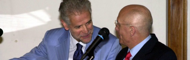 Roberto Formigoni e Gabriele Albertini