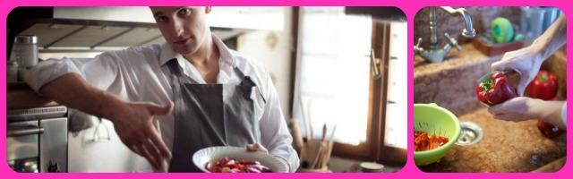 Chef a domicilio a milano lo gnocco in cucina il - Gnocco in cucina ...