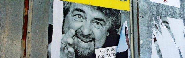 Manifesti elettorali Beppe Grillo