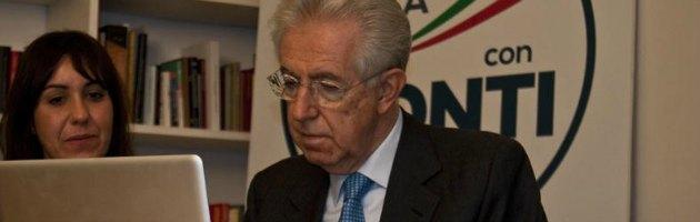 """Monti su Twitter, """"subito legge elettorale"""". Ma è silenzio su diritti e precari"""
