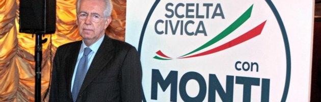 'Scelta civica', la lista di Monti. Alla Camera coalizione con Udc e Fli