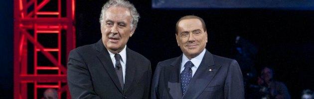 Berlusconi e Santoro a Servizio Pubblico