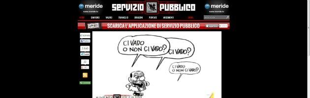 Servizio Pubblico - Vignetta Vauro