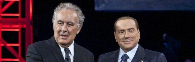 Berlusconi da Santoro, è boom di ascolti: quasi 9 milioni davanti alla tv