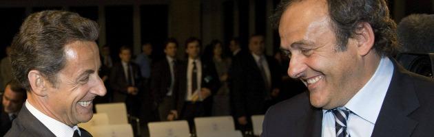 Sarkozy e Platini