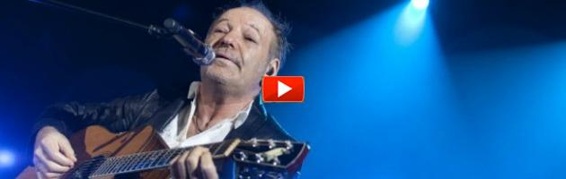 """Vasco Rossi: """"Non hanno accettato le mie dimissioni da rockstar"""" (video)"""