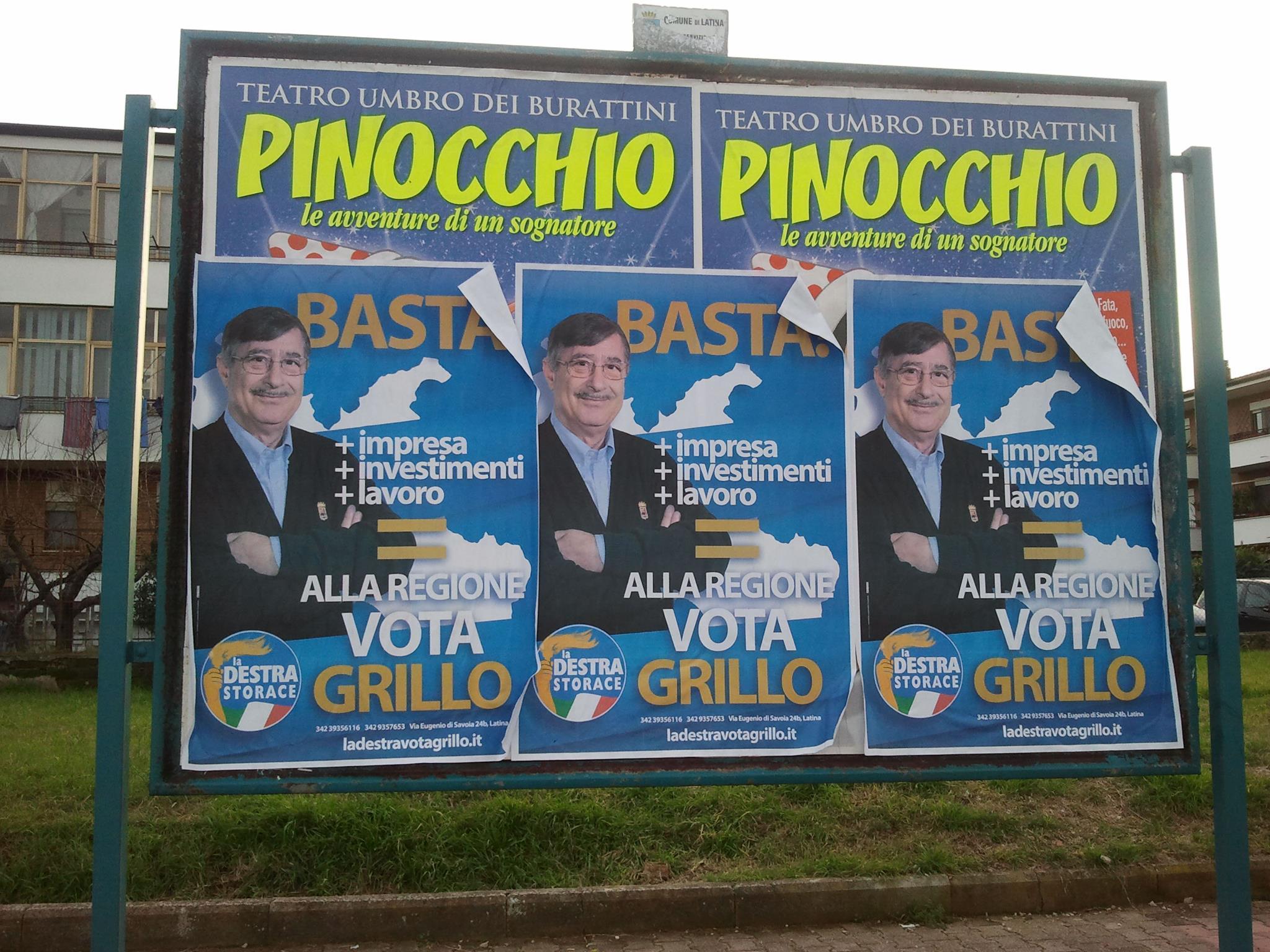 La Destra, Grillo