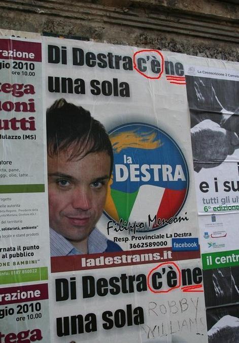 La Destra, Lazio (via twitter)