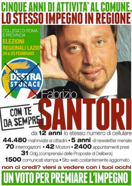 La Destra, Santori