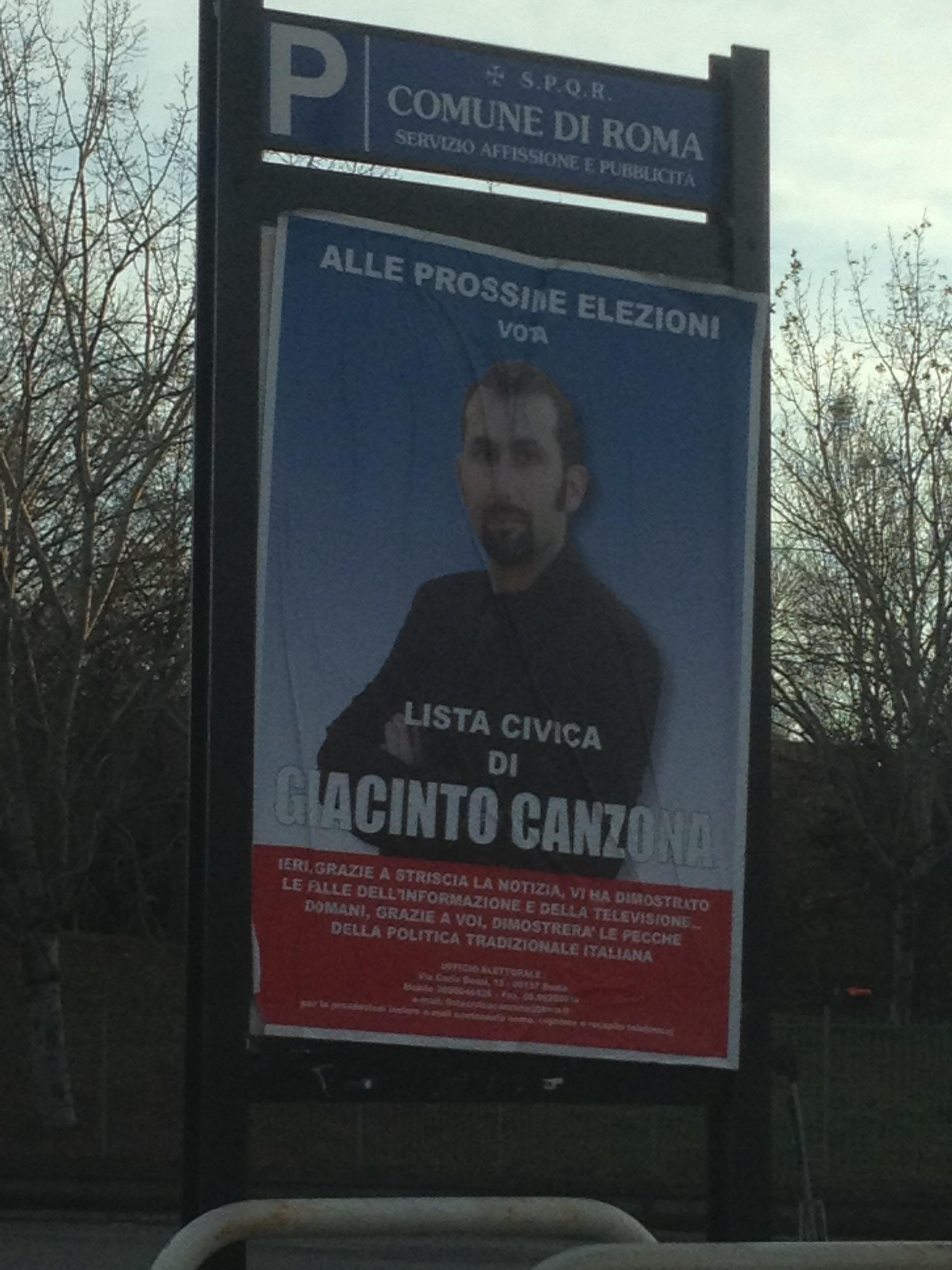 Lazio, Canzona