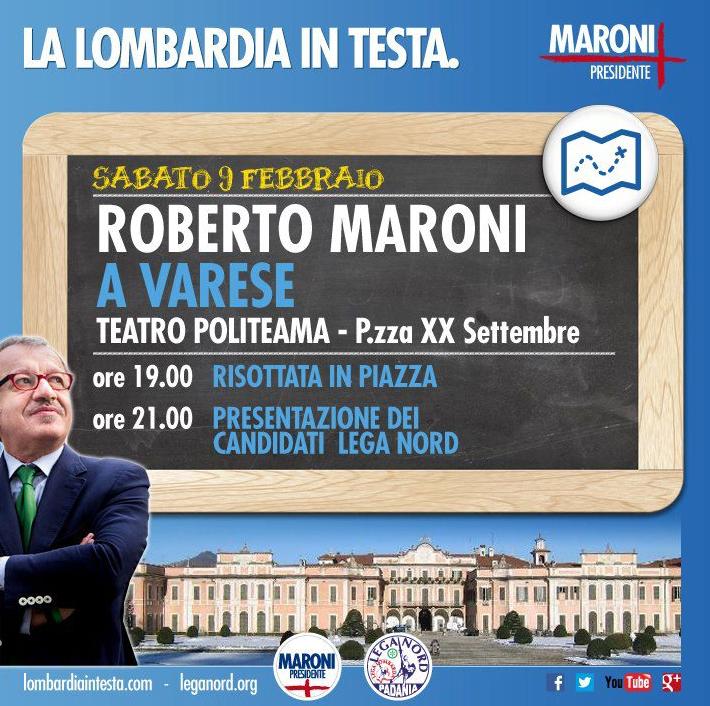 Lega Nord, Maroni