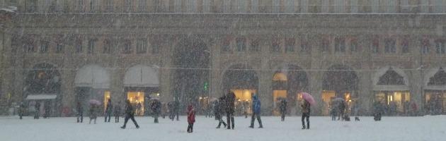 Neve, imbiancata tutta l'Emilia Romagna. 40 centimetri sull'Appennino (foto)