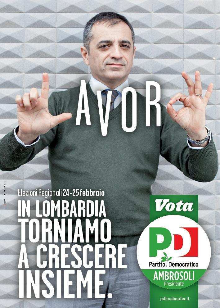 Pd - Regionali Lombardia Ambrosoli