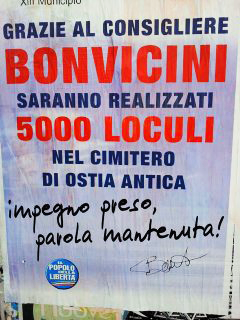 Pdl a Ostia (nonleggerlo.blogspot.it)