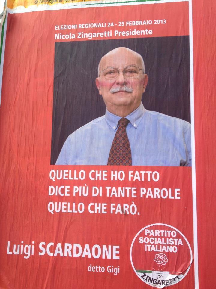 Psi, Regionali Lazio (via twitter)