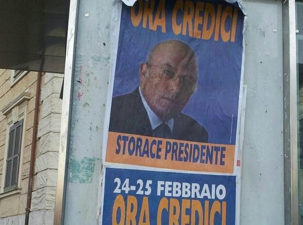 Storace, La Destra (via twitter)