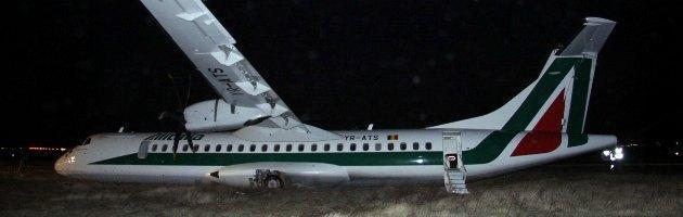 Fiumicino, inchiesta per disastro colposo. Alitalia sospende i voli di Carpatair
