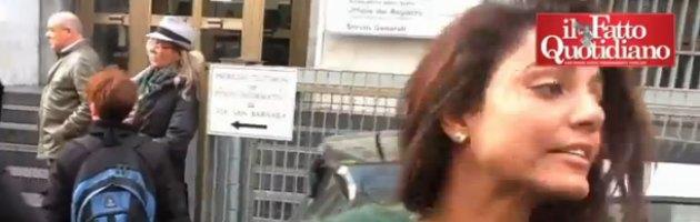 """Processo Ruby bis, Barizonte: """"Un bacio alla francese con Berlusconi"""""""