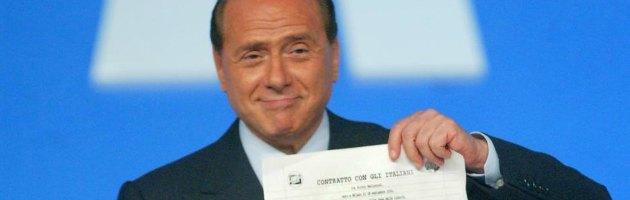 Silvio Berlusconi e il contratto con gli italiani