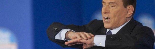 """Sanremo, Berlusconi: """"Lo show di Crozza sarà un boomerang per la sinistra"""""""
