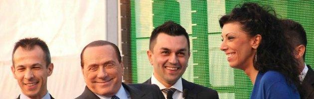 Silvio Berlusconi e la venditrice