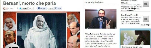 Grillo contro Bersani, la base in rivolta. E in migliaia firmano per la fiducia al Pd