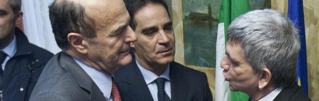 Pierluigi Bersani e Nichi Vendola