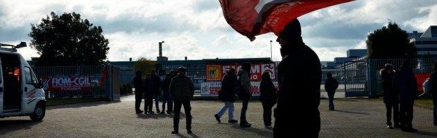 Manifestazione Fiom - Fiat di Melfi