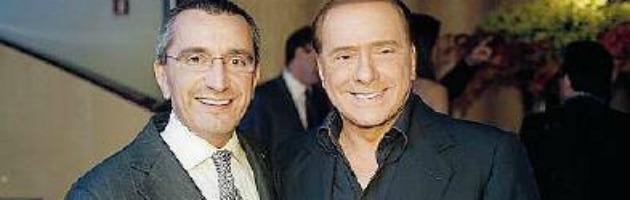 Berlusconi e il compagno di Alfonso Signorini