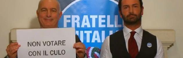 Elezioni, spot omofobo di Fratelli d'Italia (poi sparito). Meloni si scusa