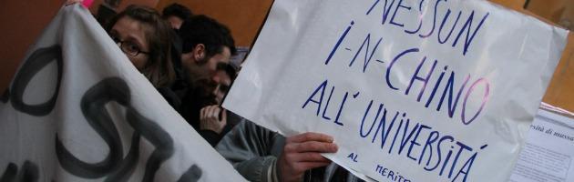 """Studenti contro Andrea Ichino: """"Vuole distruggere l'Università"""""""
