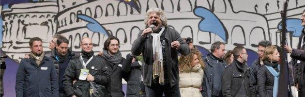 """Rai, Grillo: """"Creare una tv pubblica. Le altre due reti? Da vendere sul mercato"""""""