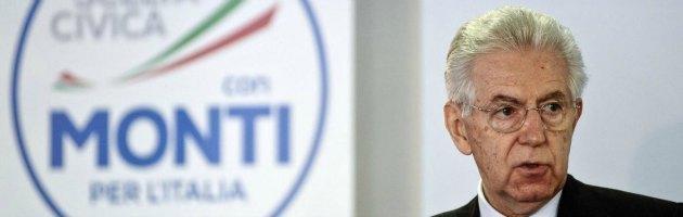 """Elezioni 2013, Monti: """"Merkel, no al Pd al governo"""". Ma la cancelliera lo gela"""