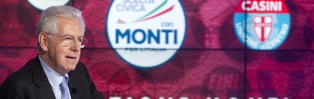 """Elezioni 2013, Monti: """"Grillo e Berlusconi predicatori frenetici"""""""