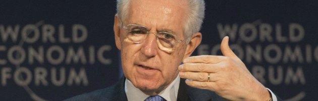 """Imu, Monti sfida Berlusconi: """"Vieni in tv a spiegare come manterrai le promesse"""""""